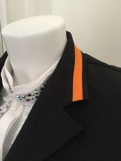 esperado-damen-reitsakko-schwarz-einfaß-kragen-orange1