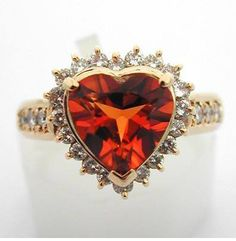 heart shaped wedding ring