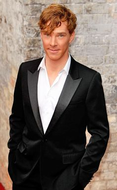 """""""The Hottest Ginger Men"""" If you haven't noticed Benedict Cumberbatch, Rupert Grint, and Tom Hiddleston are on that list. Click through for list."""