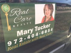 Looking to buy or sell? Give Mary a call! She's a #Realtor who serves with real care