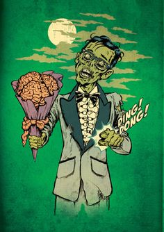 ding dong #zombie