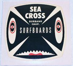 SEA CROSS SURFBOARDS Decal