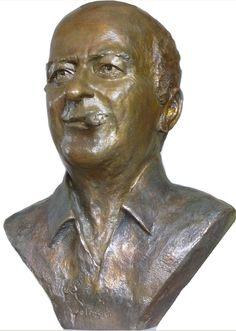 Buste de Wolinsky par Lartigue Georges Wolinski, Portfolio, Bronze, Les Oeuvres, Sculpture, Statue, Terracotta, Artist, Sculpting
