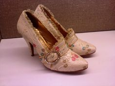 My birthday shoes for my Marie Antoinette party