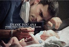 """""""It's a passionate love story -thank you ana christian whispers,and there are tears in his eyes"""