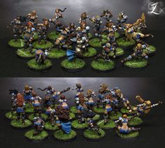 Blood Bowl Amazon Team