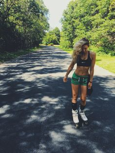 Working out / Rollerblading outfit