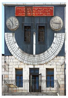 A different Sundial... Jerusalem, Israel by lapidim