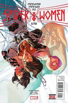 Spider-Women Alpha #1 Marvel Comics (2016)