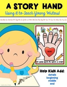 Writing Workshop {Story Hand} for Kindergarten and First Grade. $