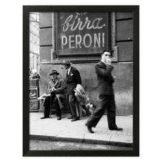 Art.com Men in a Street of Napoli Wall Art - 14378155