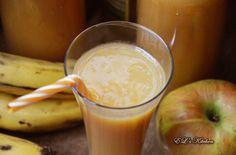 EL's Kitchen: Нектар от ябълка ,морков и банан