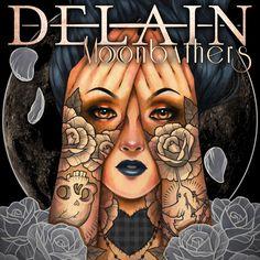 Delain - Moonbathers - 2016. Album and review.