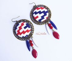 Red, White, and Blue by Robin on Etsy