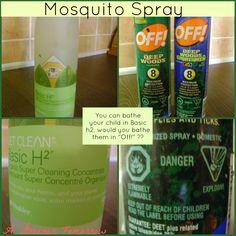 Want a non-toxic bug repellent?