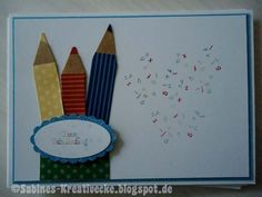 Sabines Kreativecke: Schulanfang, stampin up!, confetti