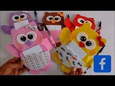 DIY: Lembrancinha Dia Das Mães: Porta Recado Corujinha. - YouTube Paper Crafts For Kids, Baby Crafts, Diy And Crafts, Mothers Day Crafts, Home Made Soap, Flower Crafts, Baby Shower, Homemade, Crafty