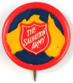 Salvation Army - Australia Badge