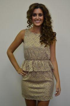 Little Miss Sunshine Dress $52, www.piaceboutique.com