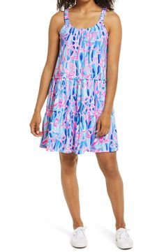 Nordstrom Dresses, No Frills, Lilly Pulitzer, My Girl, Scoop Neck, Gowns, Number, Illustrations, Cotton