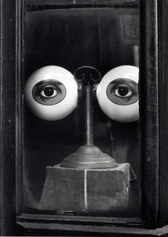 Optician's Shop Window, New York, 1939