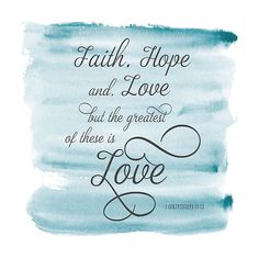Courtside Market Faith Hope & Love Wall Decal Multi Scripture Verses, Bible Verses Quotes, Faith Quotes, Wisdom Quotes, Faith Hope Love Quotes, Scriptures, Quotable Quotes, Now Quotes, Quotes About God