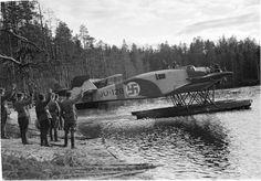Finnish floatplane, pin by Paolo Marzioli
