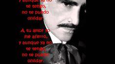 De que manera te olvido -Vicente Fernandez (letra)