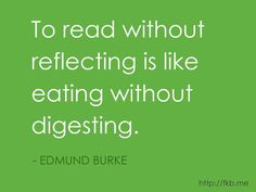 Here's another great quote about books and reading. (from http://fkb .