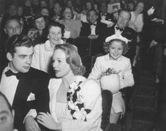 Wendy Barrie...and Shirley Temple, America's Number 1 child star, is shown at the preview of her latest picture, Th...