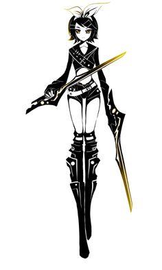 PPC - Ninja Assassin Kagamine Rin by ZephyraVirgox.deviantart.com on @deviantART
