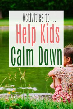 Calm Kids - Activities to Help Kids Calm Down ad gain more control over their big uncomfortable feelings such as fear, anger and worry. Simple ideas on mindfulness and breathing and a host of other exercises combine to empower kids to help themselves  #calmkids #childhood #positiveparenting #anxiety Eyfs Activities, Book Activities, Mindful Parenting, Parenting Advice, Nature Words, Angry Child, Kids Behavior, Help Kids, Calm Down