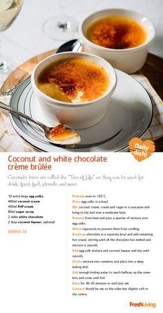 CRÈME DE LA CRÈME: Serve only the best on  Mother's Day, like an indulgent treat of crème brûlée