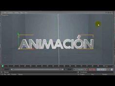 Tutorial Cinema 4D: Hacer una animacion de texto/camara. Pt. 1