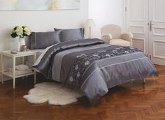 The Diamondy quilt cover set is one the designs in the new 'Esk' manchester range created exclusively for Fantastic Furniture by KAS Australia. Double $89, Queen $99, King $109. Quilt Cover Sets, Things To Buy, Bedroom Furniture, Manchester, Comforters, Blanket, Range, Australia, Queen