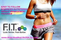 Look Better and Feel Better with this easy to follow weight maintenance program. Available here: www.Aloe-HealthyLifeUSA.flp.com
