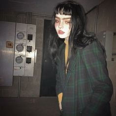 Grunge Goth, Grunge Style, Soft Grunge, Grunge Makeup, Aesthetic Grunge, Aesthetic Girl, Grunge Outfits, Pretty People, Beautiful People