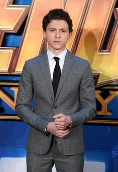 Tom Holland at the 'Avengers: Infinity War' fan event in London - April 8, 2018
