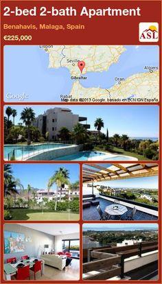 2-bed 2-bath Apartment in Benahavis, Malaga, Spain ►€225,000 #PropertyForSaleInSpain