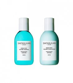 The brand's Ocean Silk Technology will leave your hair looking shiny, bouncy, and beach-bound // Sachajuan Ocean Mist Shampoo and Ocean Mist Conditioner