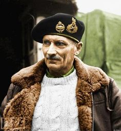 Bernard Montgomery, the hero of El Alamein and North Africa, where he succeeded Auchinleck, was one of the most inspirational military comma...