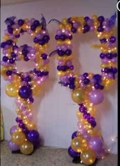 Balloon 80 Years Old Decoration With Lighting Decor Adult Birthday Party90th
