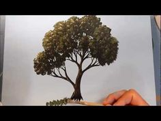 How to Paint a Tree in Acrylics
