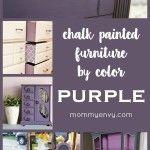 Purple Chalk Paint – Chalk Painted Furniture by Color