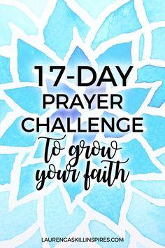 17-Day Prayer Challenge for 2017