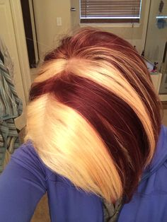 9 Best Two Tone Hair Colour Images Colorful Hair