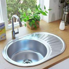 Chiuvete de bucătărie | FAVI.ro Contemporary Kitchen Sinks, Single Bowl Sink, Loft Kitchen, Granite, Basin, Office Supplies, Stainless Steel, Home Decor, Products