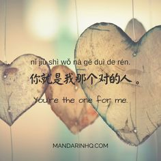 8 Ways to Tell That Special Someone How You Feel FULL VIDEO POST: https://mandarinhq.com/2017/08/chinese-love-phrases/ #chineselovephrases #chineseloveexpressions #chinesevideolessons #mandarinhq #chineselessons #lovephrasesinchinese #chineselanguage