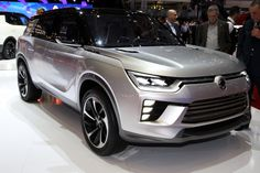 2016 Geneva Motor Show Live: SsangYong SIV-2 Concept Might Be The Manufacturer's Next SUV The medium SsangYong SUV might look like the new SsangYong SIV-2 in the future.The new SIV-2 has been introduced at the Geneva Auto Show as a continuation of the SIV-1 model. The concept has been created based on the new Dynamic Motion style language, which implies more clean-cut lines on the...