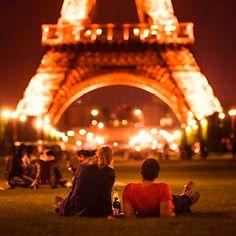 France, Paris, Eiffel Tower. Relationship, cute.